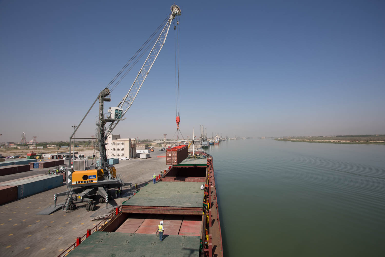 Hutchison Ports Partnering with Iraq Terminal Operator